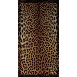 Maravilla Cheetah 2 Rectangle Plastic/Vinyl Non-Slip Animal Print Shower mat