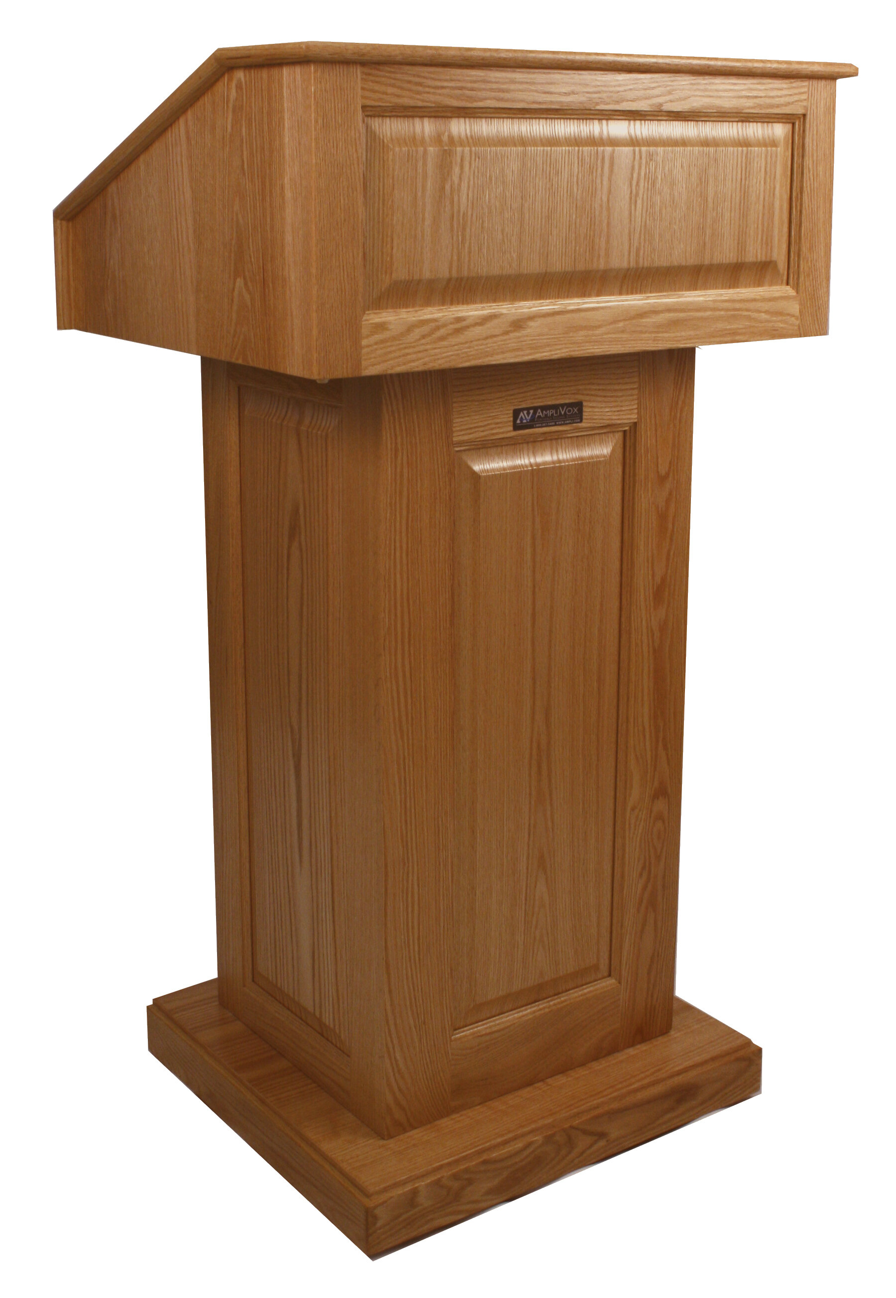 Amplivox Sound Systems Victoria Solid Wood Lectern Wayfair