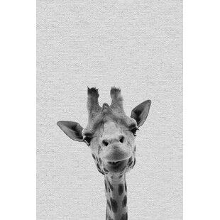 'Cool Giraffe' Canvas Art