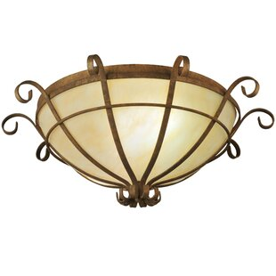 Meyda Tiffany Florentine 2-Light Flush Mount