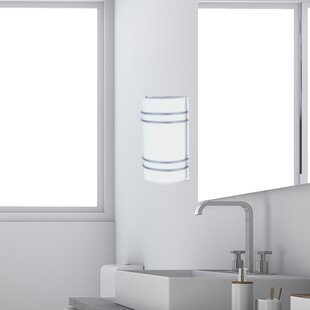 1-Light LED Bath Sconce by Living District