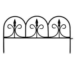 11.3 in. x 20.9 in. Victorian Fence (Set ..