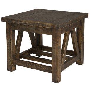 Myrtlewood End Table by Loon Peak