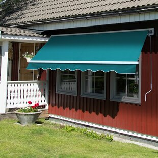 Sonakshi 2.5m W X 2m D Retractable Patio Awning By Sol 72 Outdoor