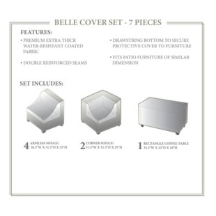 TK Classics Belle Winter 7 Piece Cover Set