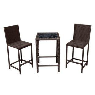 Modern Contemporary Bar Height Outdoor Dining Sets