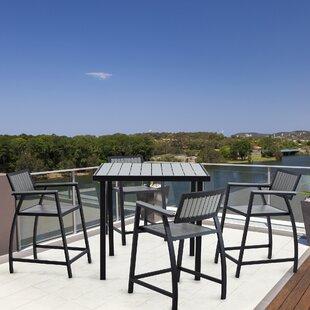 Find Crete Outdoor Wood Bar Table Best Deals