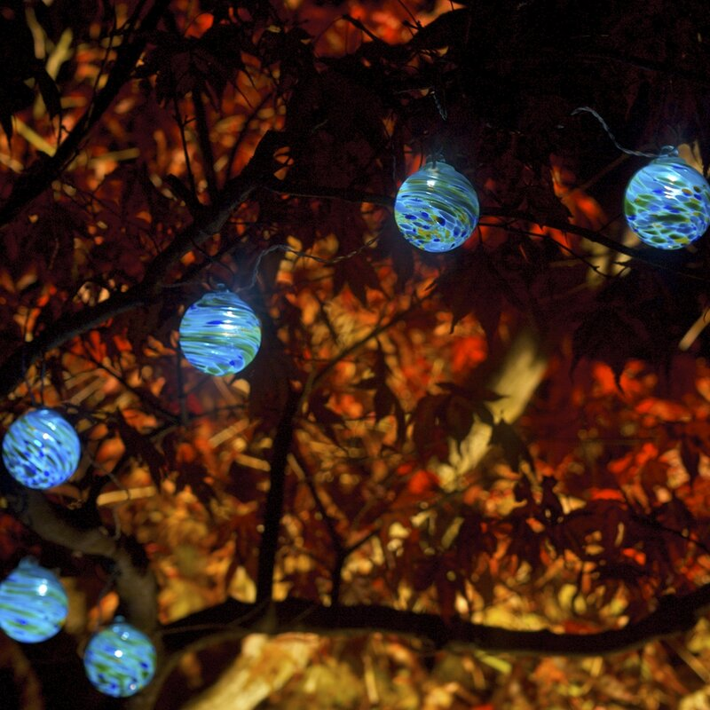 Aurora Glow 6 Light 25 Ft. Globe String Lights