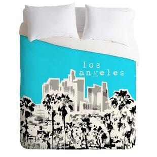 East Urban Home Los Angeles Duvet Cover Set