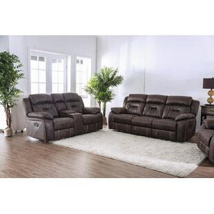 Bucholz Reclining Configurable Living Room Set by