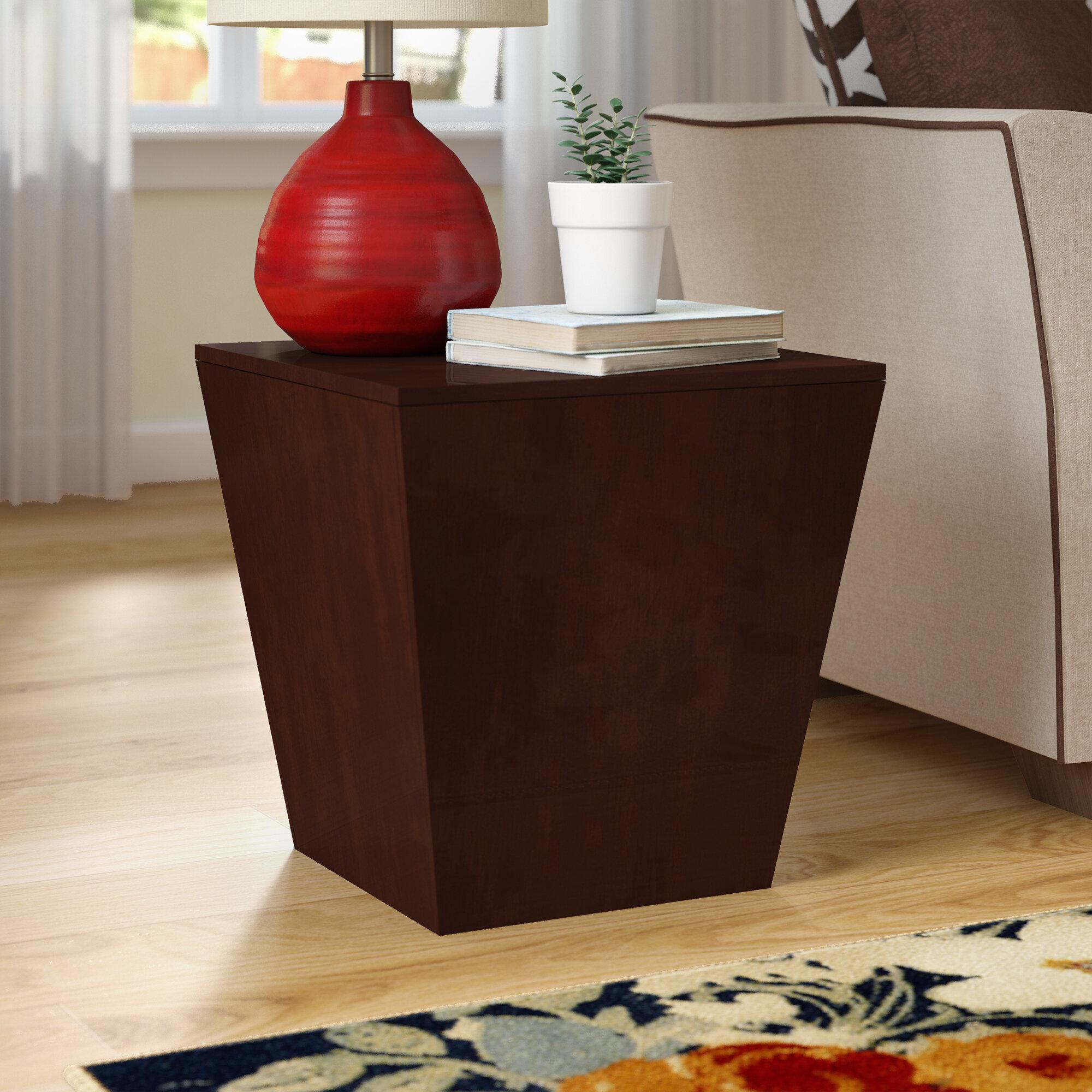 Latitude Run Barnesville Multifunction Storage Cube End Table U0026 Reviews |  Wayfair