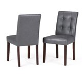 Annay Upholstered Dining Chair (Set of 2) by Ebern Designs