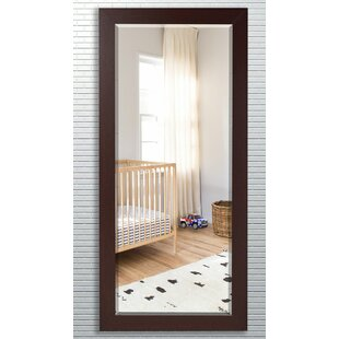 Affordable Price Wood Grain Frame Beveled Wall Mirror By Darby Home Co