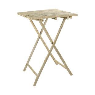 Oneridge Folding Teak Bar Table By Bay Isle Home