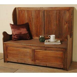 Loon Peak Plattsburgh Wood Storage bench
