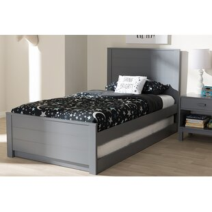 Inexpensive Harvill Twin Bed with Trundle by Mack & Milo