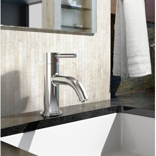 Symmons Sereno Single Hole Bathroom Faucet with Drain Assembly