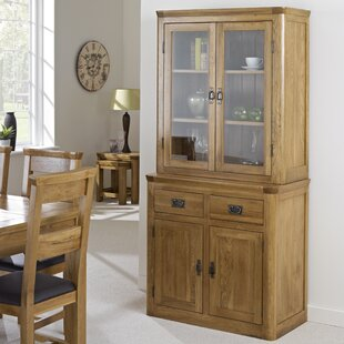 Elizabethville Solid Oak Display Cabinet