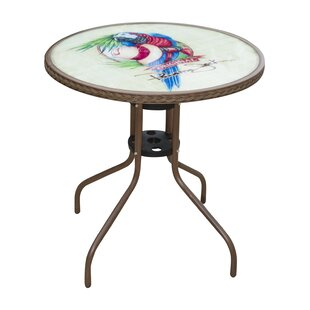 Panama Jack Outdoor Cafe Parrot Bistro Table