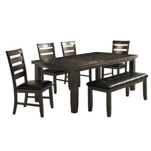 Winston Porter Severus Wooden Extendable Dining Table