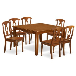 Wooden Importers Parfait 7 Piece Extendable Dining Set
