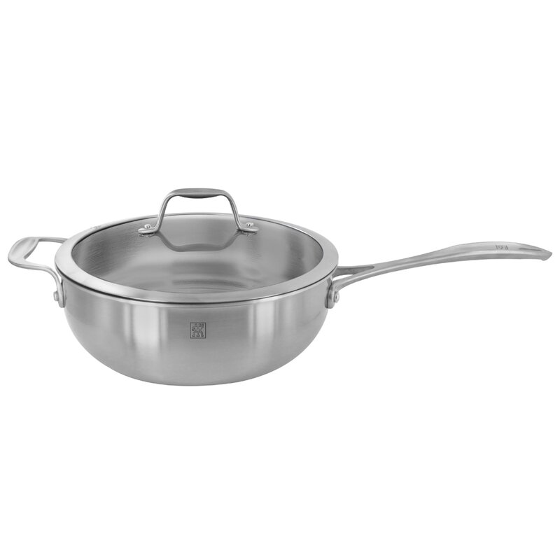 Zwilling Ja Henckels Spirit 10 Stainless Steel Wok With Lid Wayfair