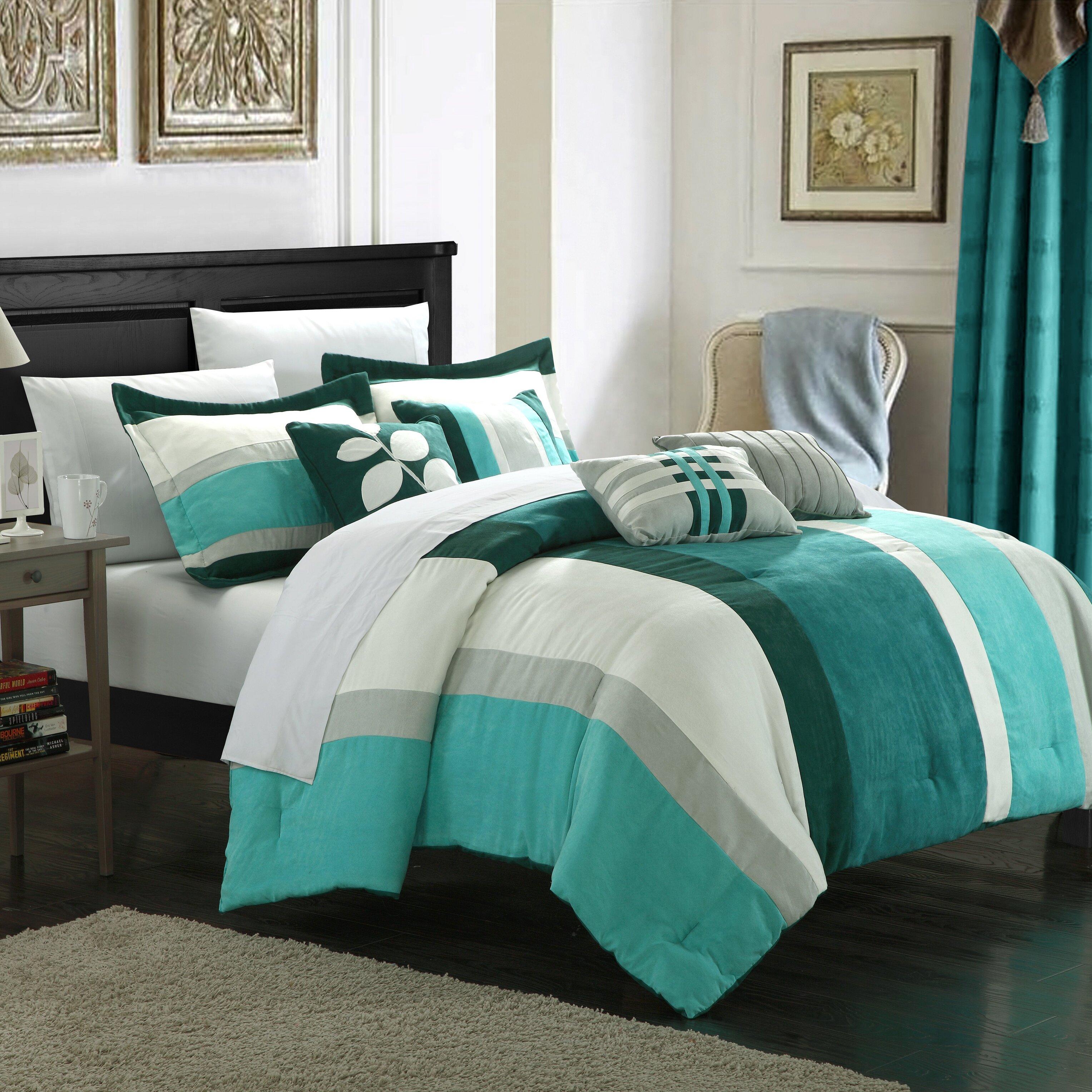 Chic Home Highland Comforter Set Reviews Wayfair