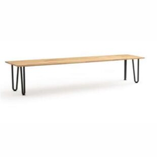Cornette Wood Bench By Ebern Designs