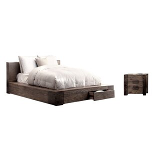 Blocher California King Panel Configurable Bedroom Set by Foundry Select Best #1