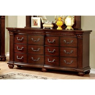 Check Prices Dorcas Luxe Astonishing 12 Drawer Double Dresser by Astoria Grand