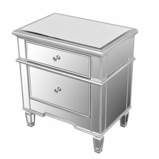 Aedesia 2 Drawer Nightstand