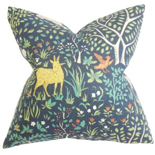 Marlene Floral Cotton Throw Pillow