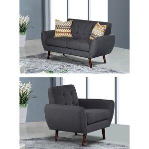 Diara 4 Piece Living Room Set by Zipcode Design