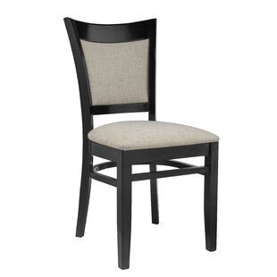 Iron Acton Upholstered Dining Chair (Set of 2) Winston Porter