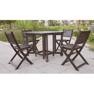 Folding Patio Dining Chair (Set of 4) by Northbeam