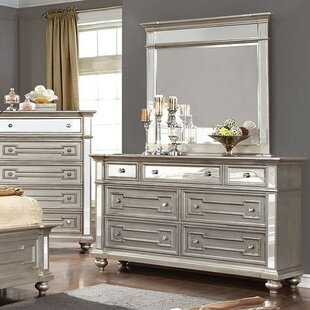 Shop For Amberly 7 Drawer Double Dresser by House of Hampton