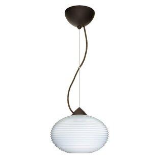 Pape 1-Light Globe Pendant by Besa Lighting