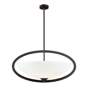 Orren Ellis Savion 6-Light Inverted Pendant