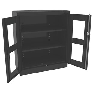Standard Welded Counter Height Storage Cabinet by Tennsco Corp.