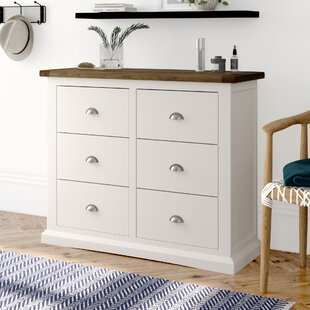 6 Drawer Chest Of Drawers By Brambly Cottage