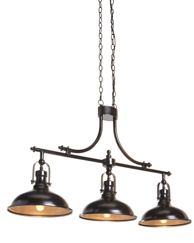Martinique 3-Light Kitchen Island Pendant