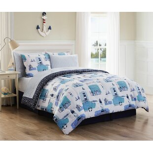 Fiala 8 Piece Reversible Comforter Set by Breakwater Bay Savings