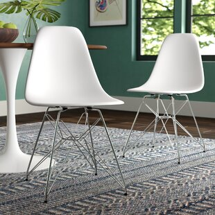 Affordable Vogt Side Chair (Set of 2) by Wrought Studio Reviews (2019) & Buyer's Guide