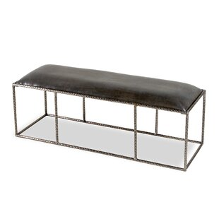 Ethan Leather Bench by Int..