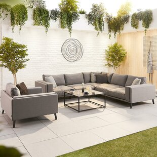 Thorkil 7 Seater Corner Sofa Set By Sol 72 Outdoor