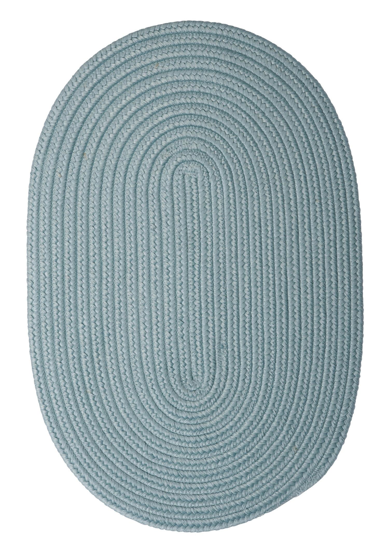 Winston Porter Mcintyre Braided Pale Blue Area Rug Reviews Wayfair