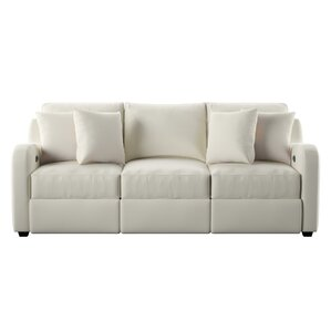 Van Reclining Sofa by Wayfair Custom Upholst..
