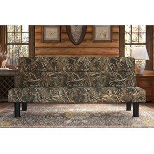 millburn max 5 convertible sofa camouflage futon   wayfair  rh   wayfair