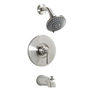 Inexpensive Essential Style Thermostatic Tub and Shower Faucet with Lever Handle ByKeeney Manufacturing Company