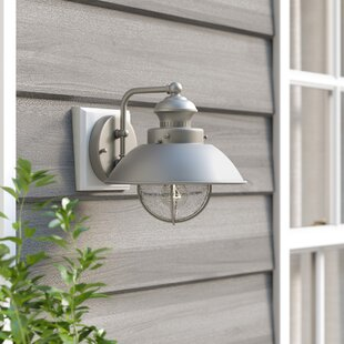 Buying Archibald 1-Light Outdoor Barn Light By Beachcrest Home